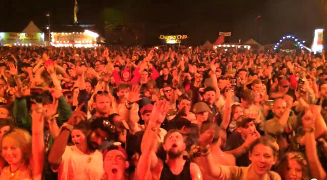GHETTO FUNK ALLSTARS – Hell Stage – Shangri-la – Glastonbury 2014