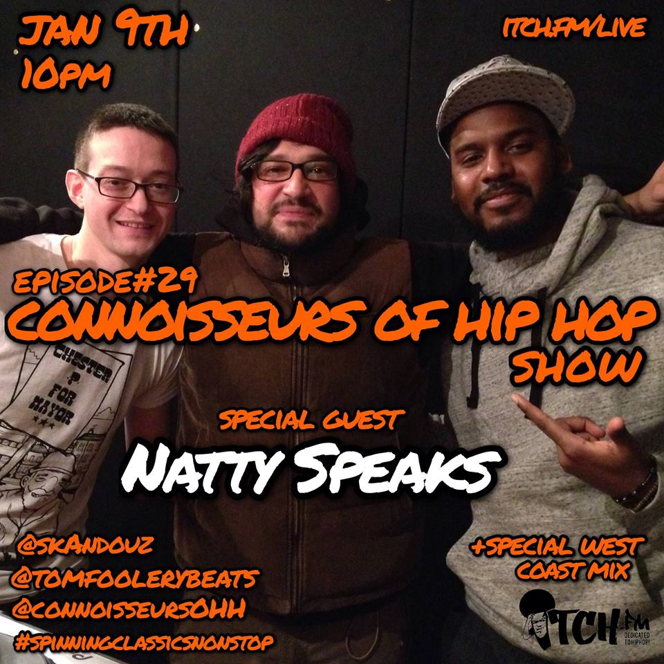 ItchFM-NattySpeaks-FreeStyle & Interview for Connoisseurs of HipHop