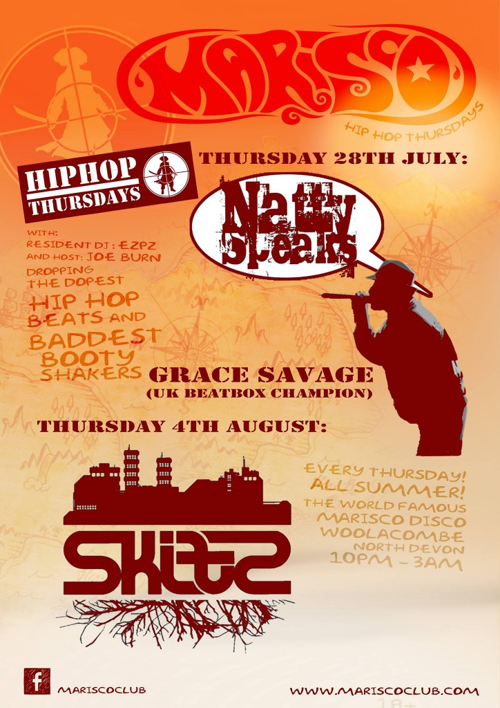 NattySpeaks – Grace Savage this Thursday in DEVON!
